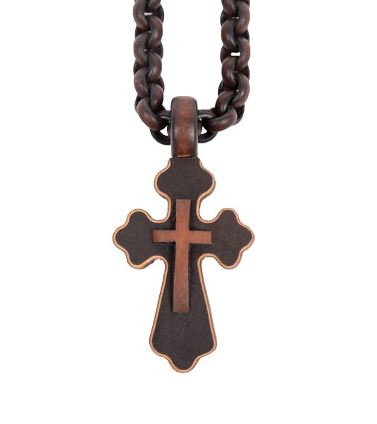 Kreuzkette aus Holz | Rubinyan