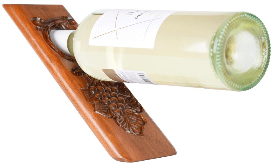 Holz-Weinhalter Rubinyan Dunkel
